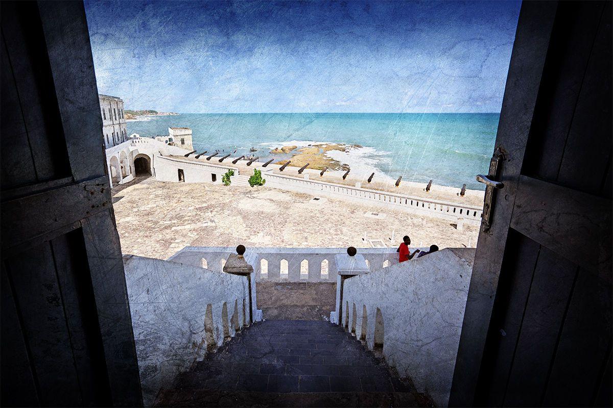 Door of Cape Coast Castle
