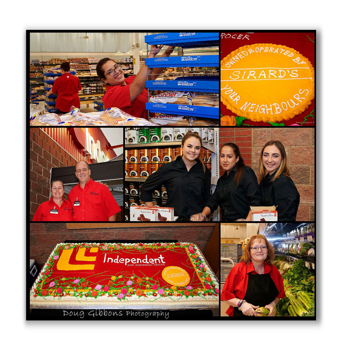 Sinard' Independent Grocers Grand Opening
