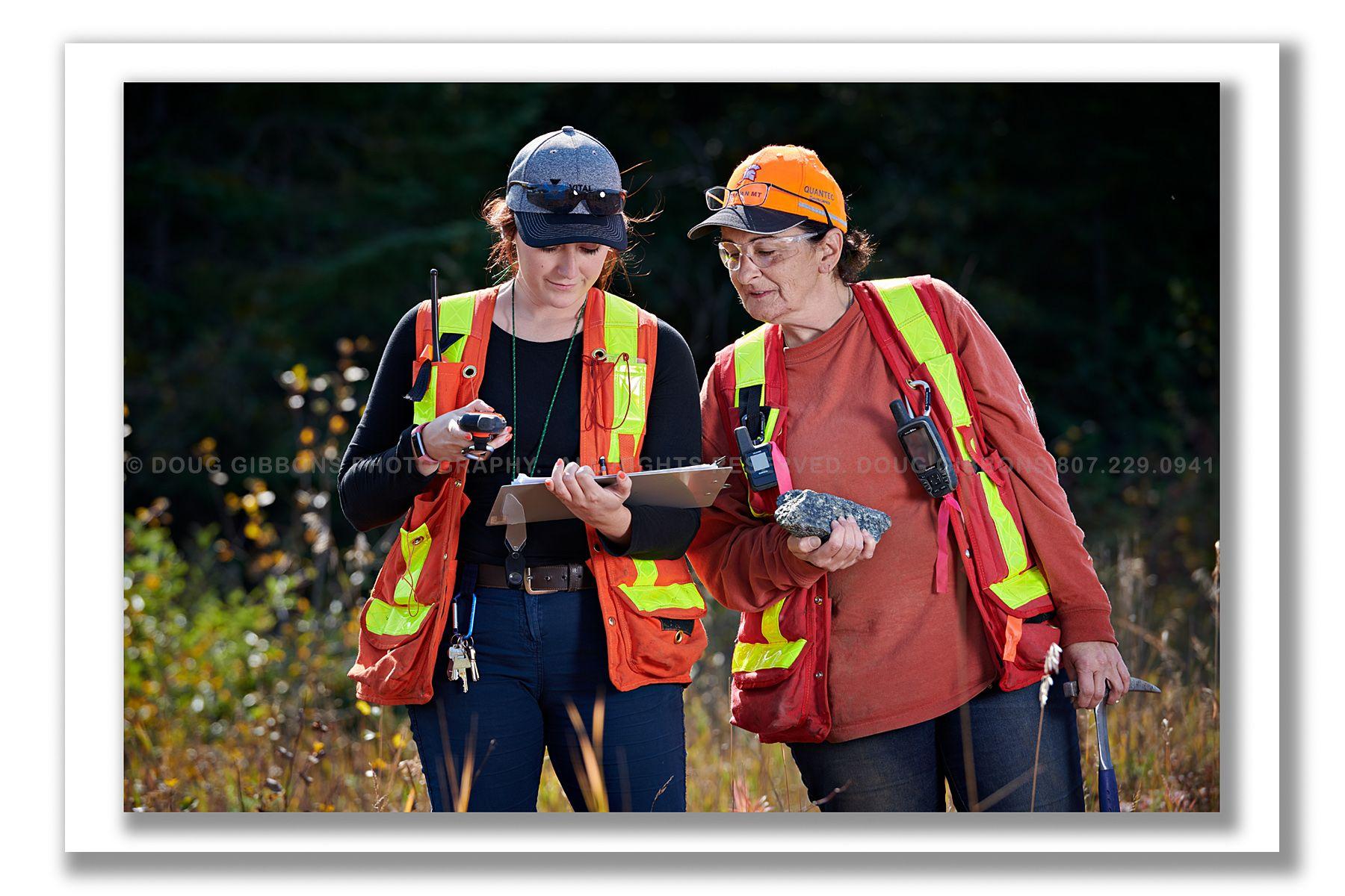 Generations Mine-Field Geoligists