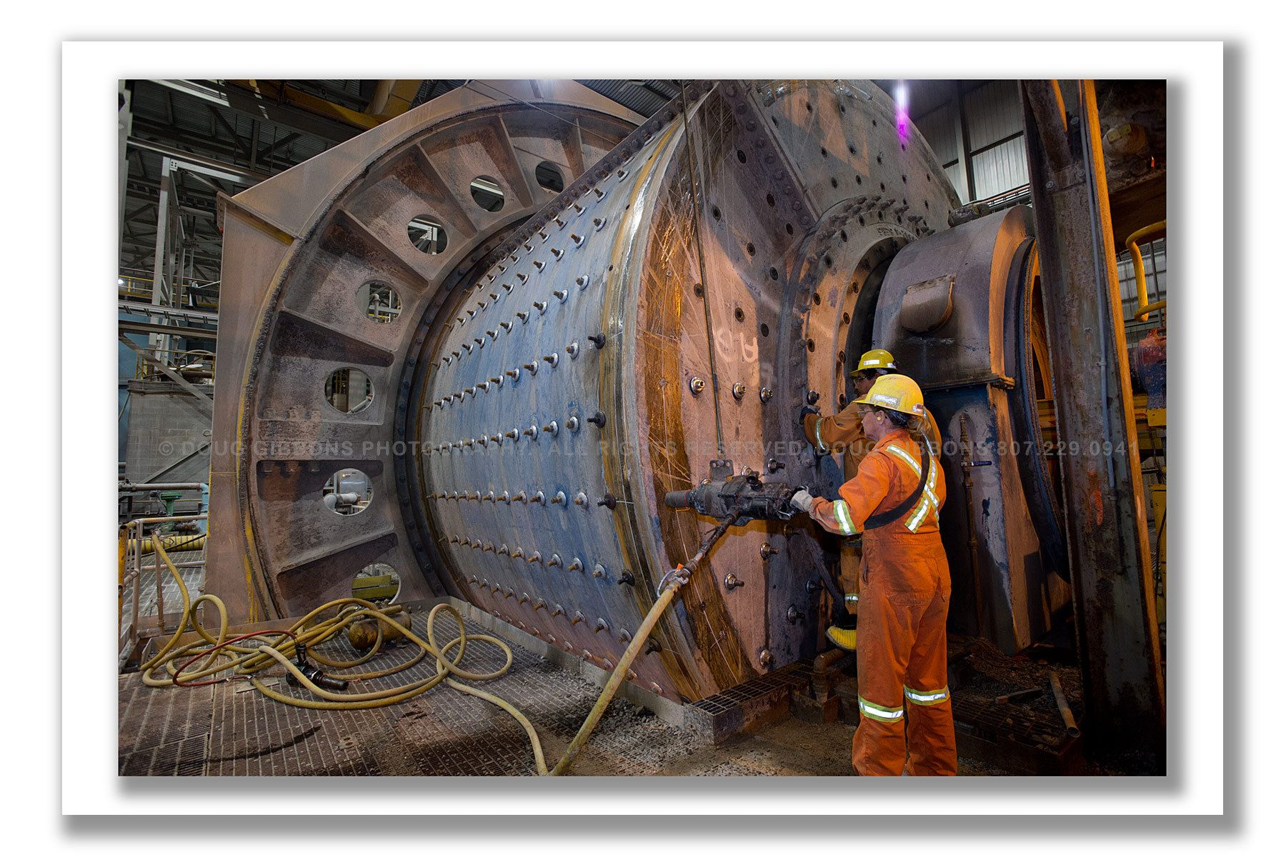 Mill maintenance