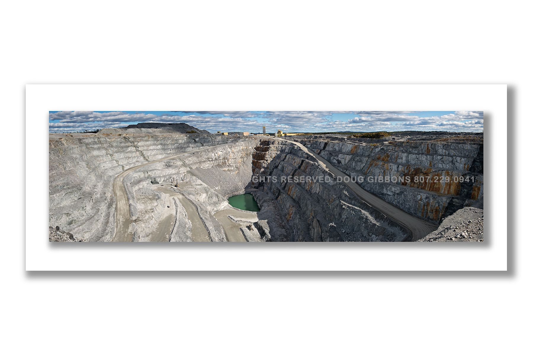 Open Pit Williams mine