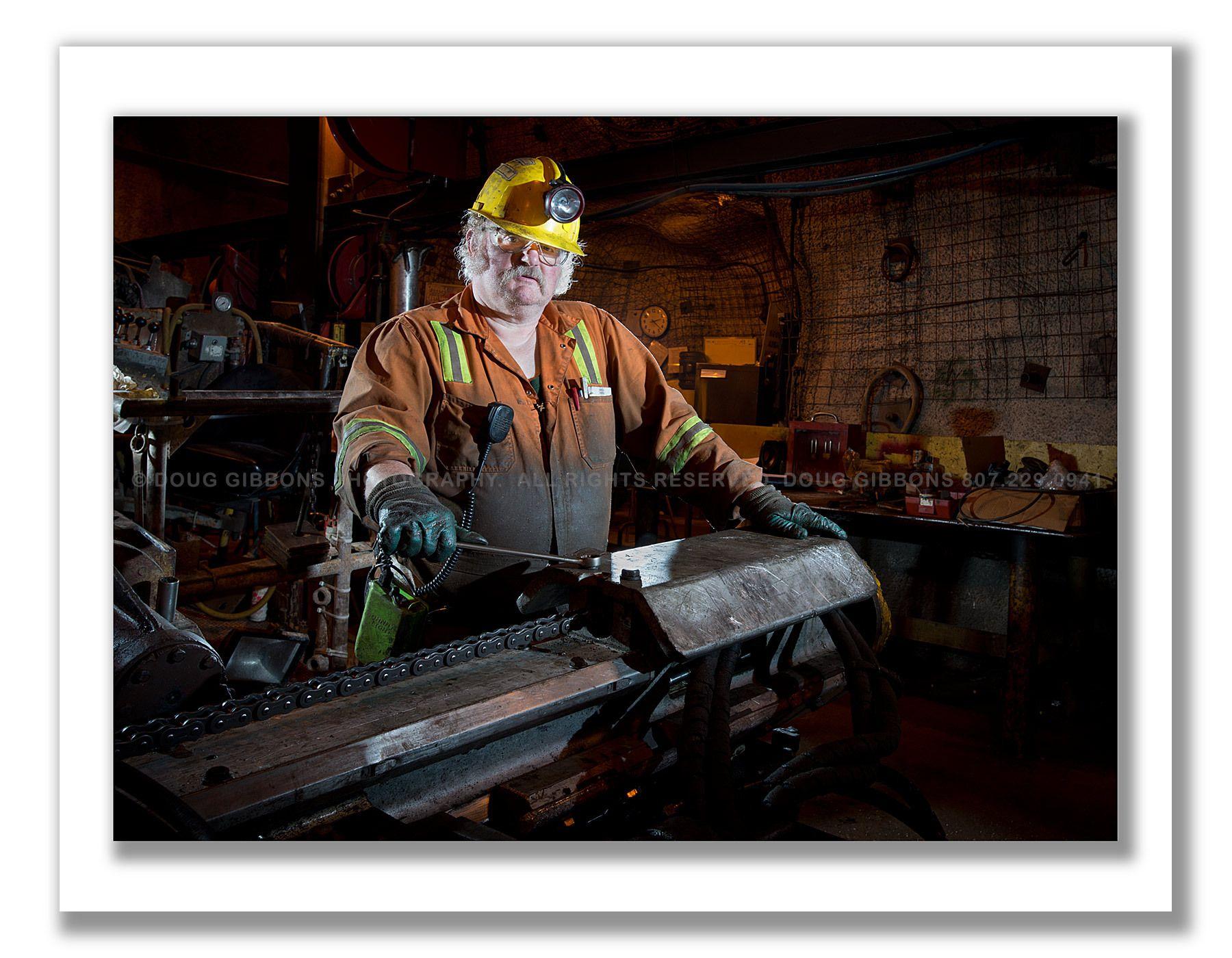 Underground  shop tradesman