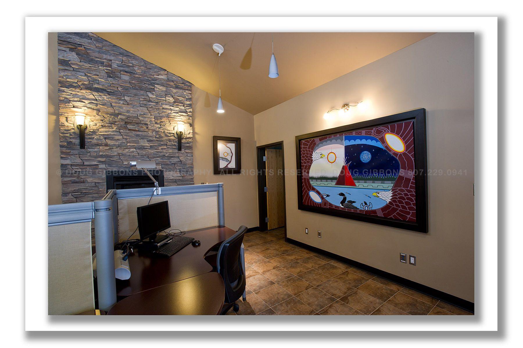 Pic River Hydro-Interior art work