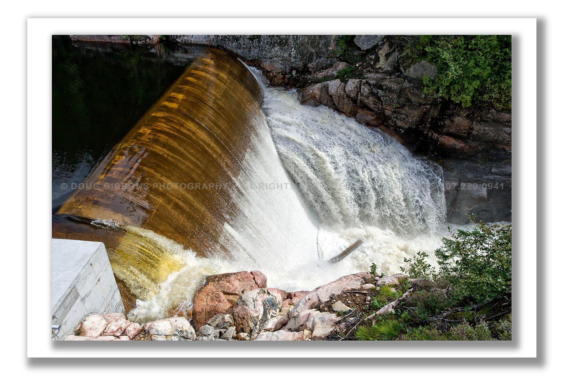 Umbata Weir overflow dam