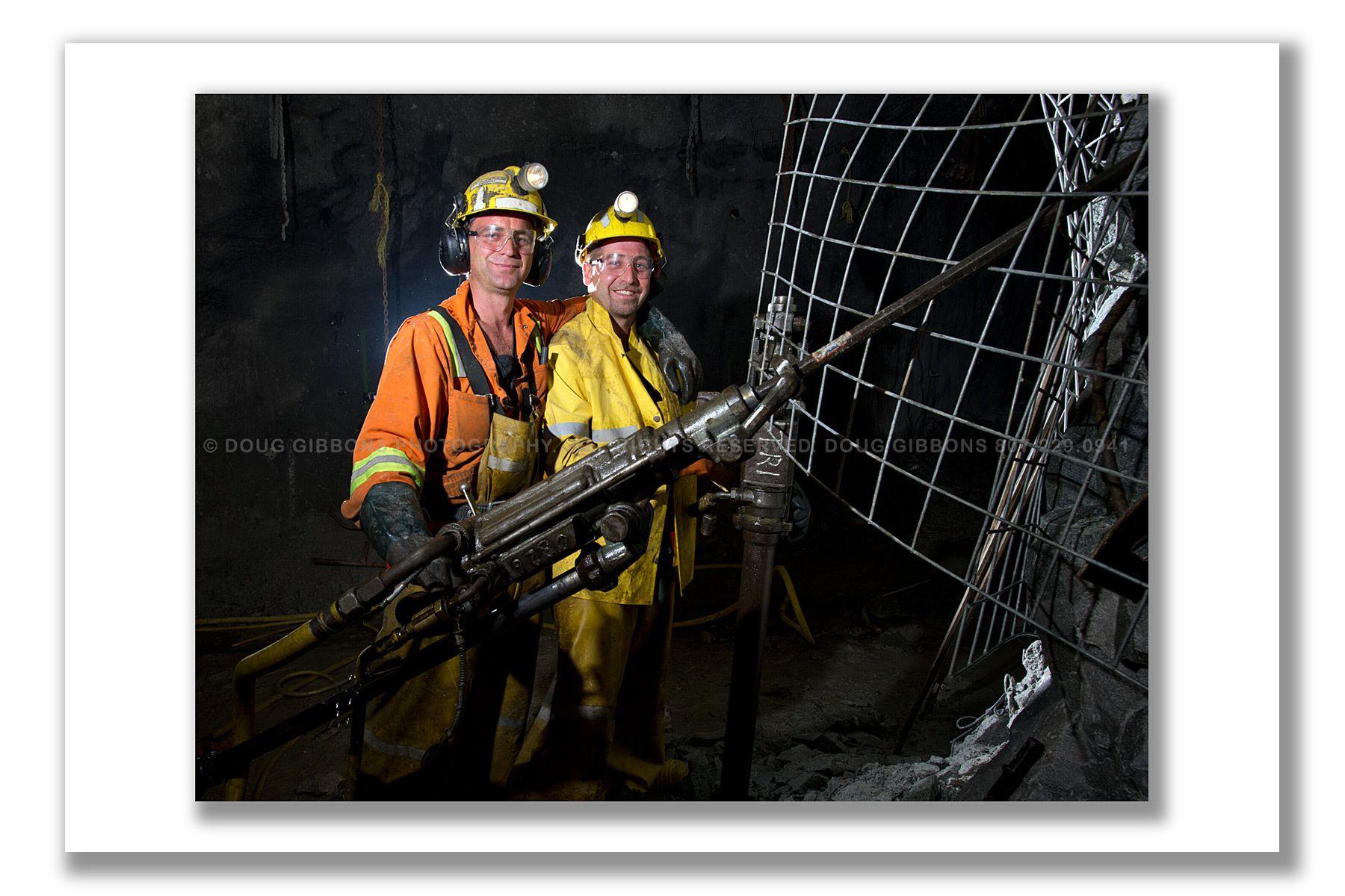 Barrick Gold-Hemlo team work