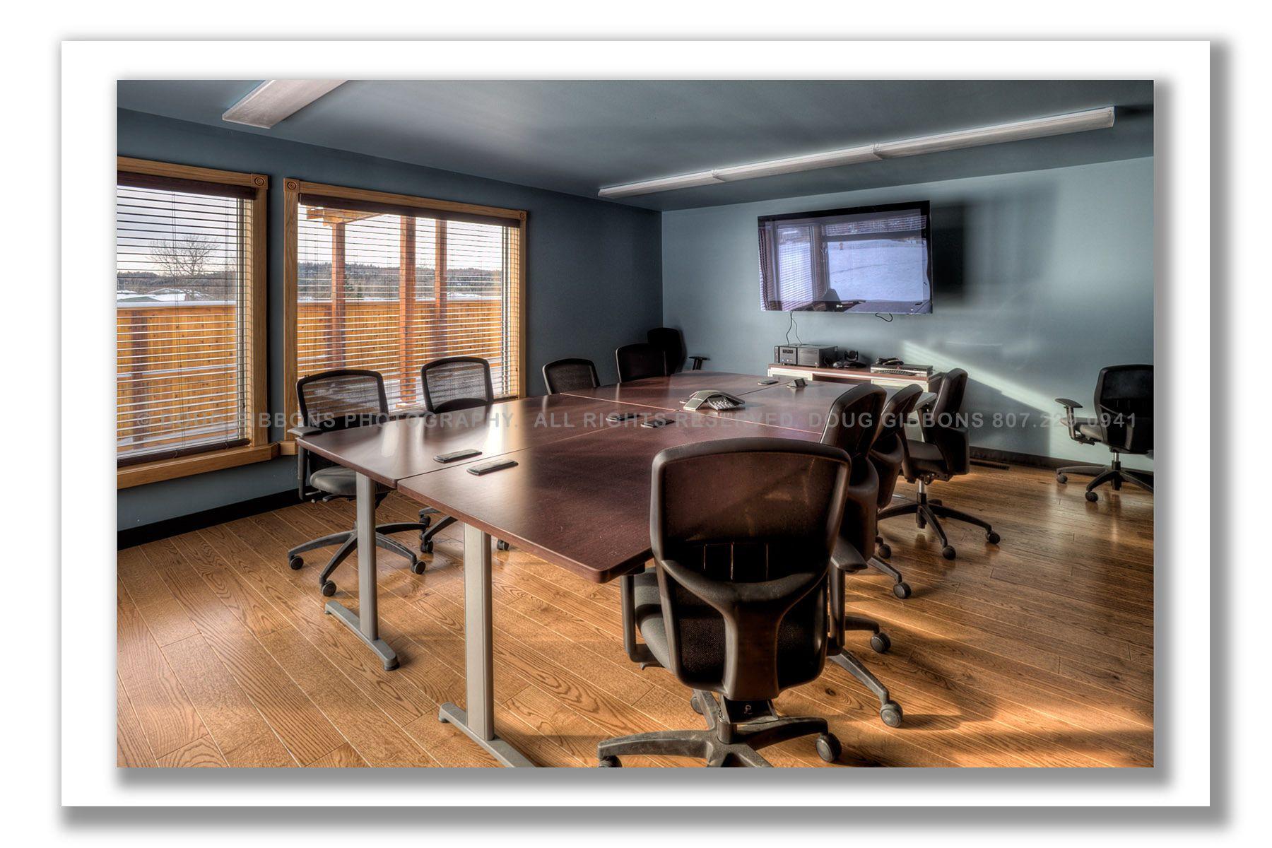Pic River Hydro-Interior board room
