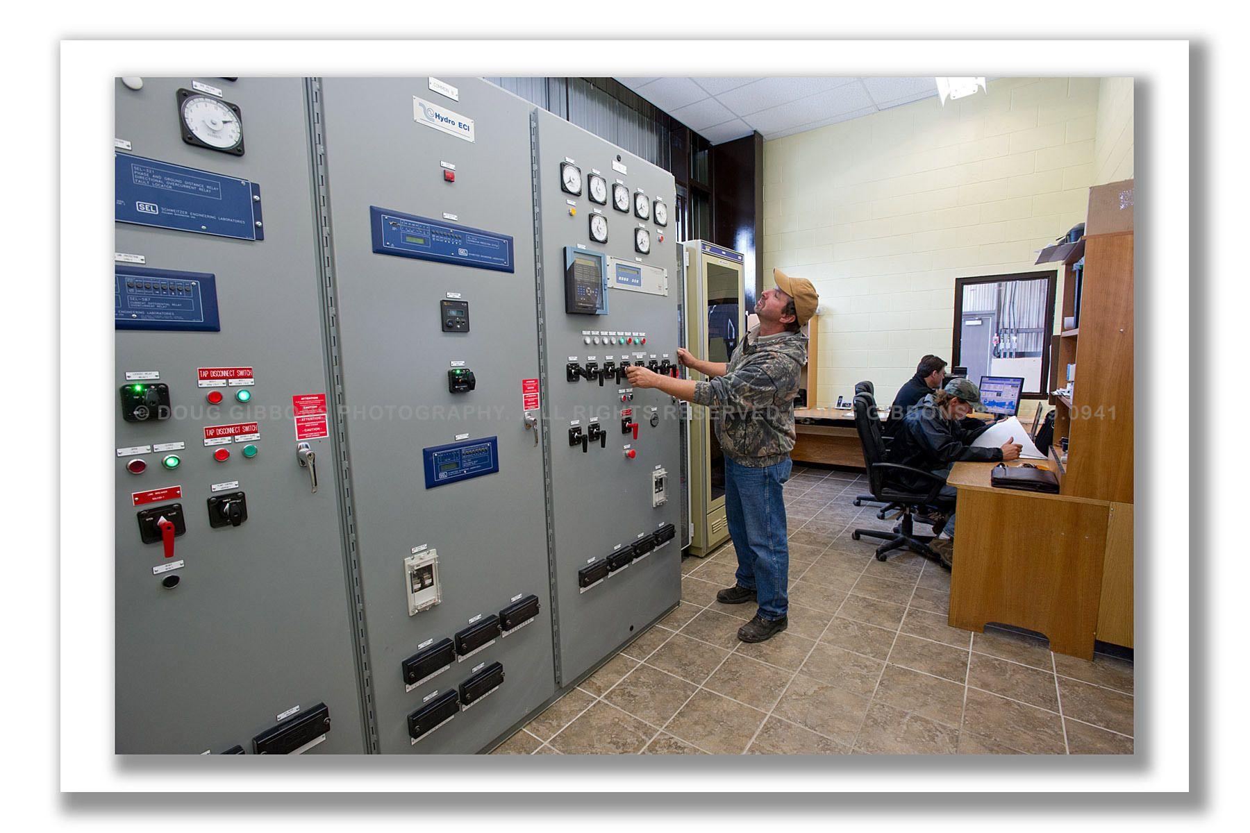 Umbata-Control room