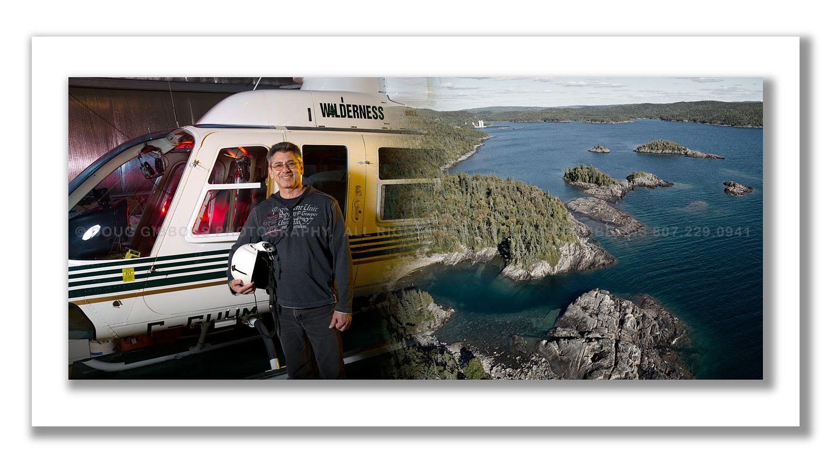 Wilderness Helicopters Marathon Ontario Branch