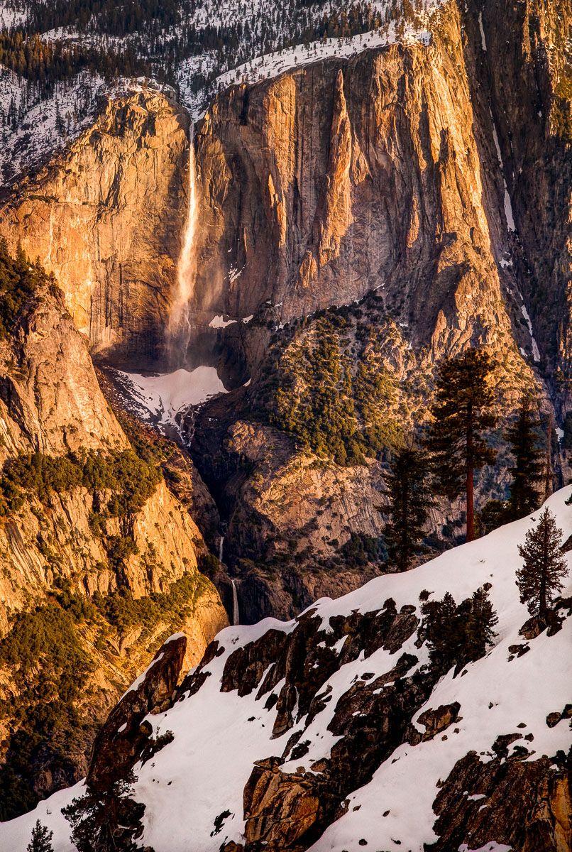 Yosemite Falls at Sunrise