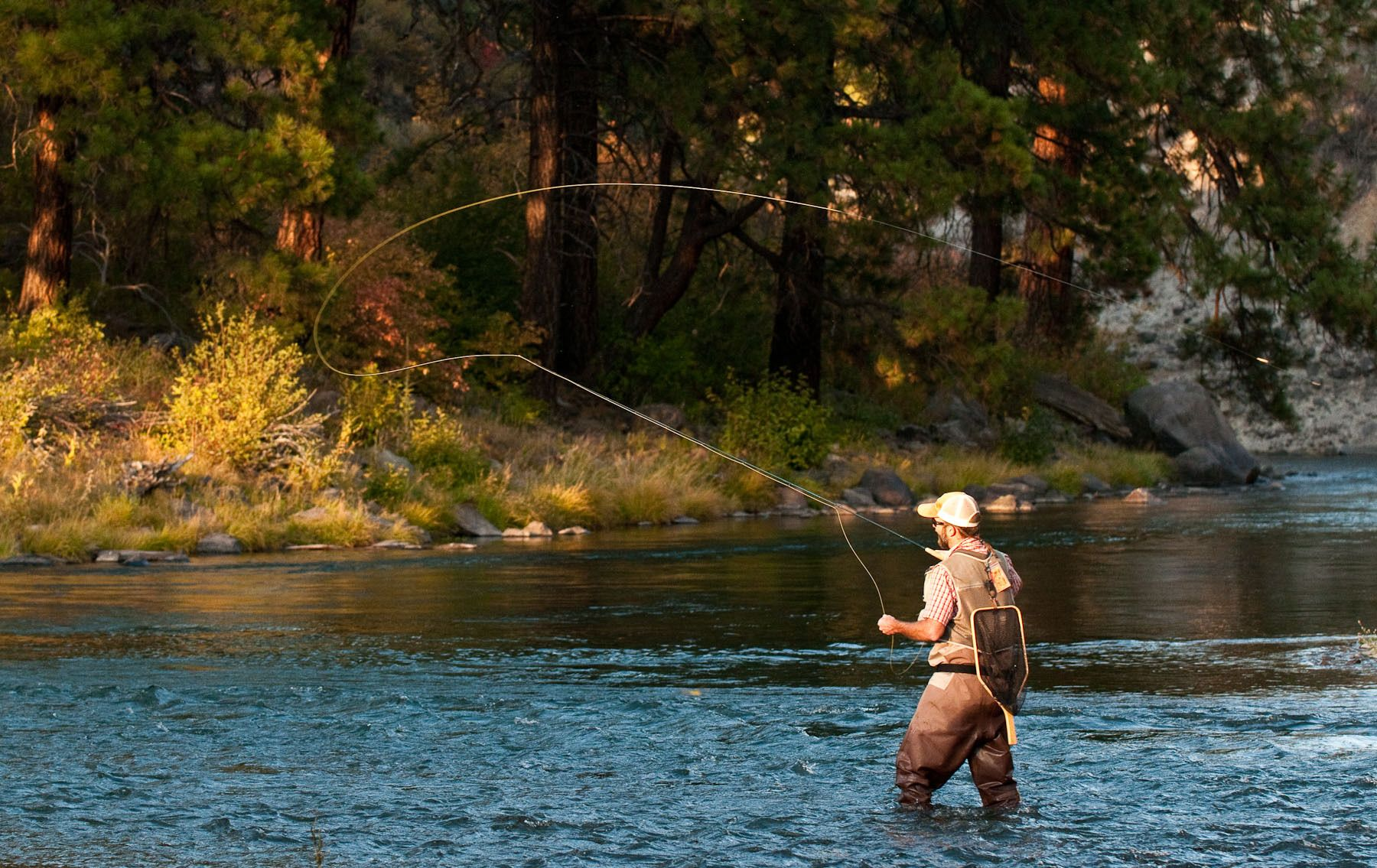 Fly Fishing in the Truckee River