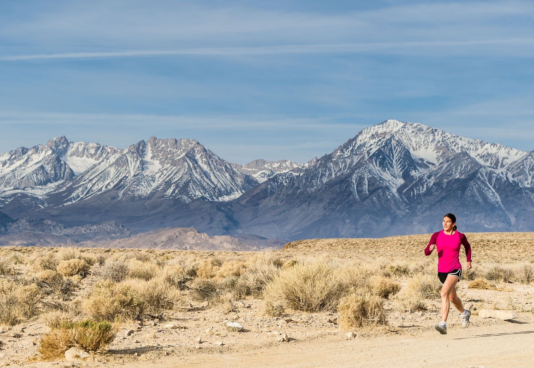 Trail Running in Eastern Sierra