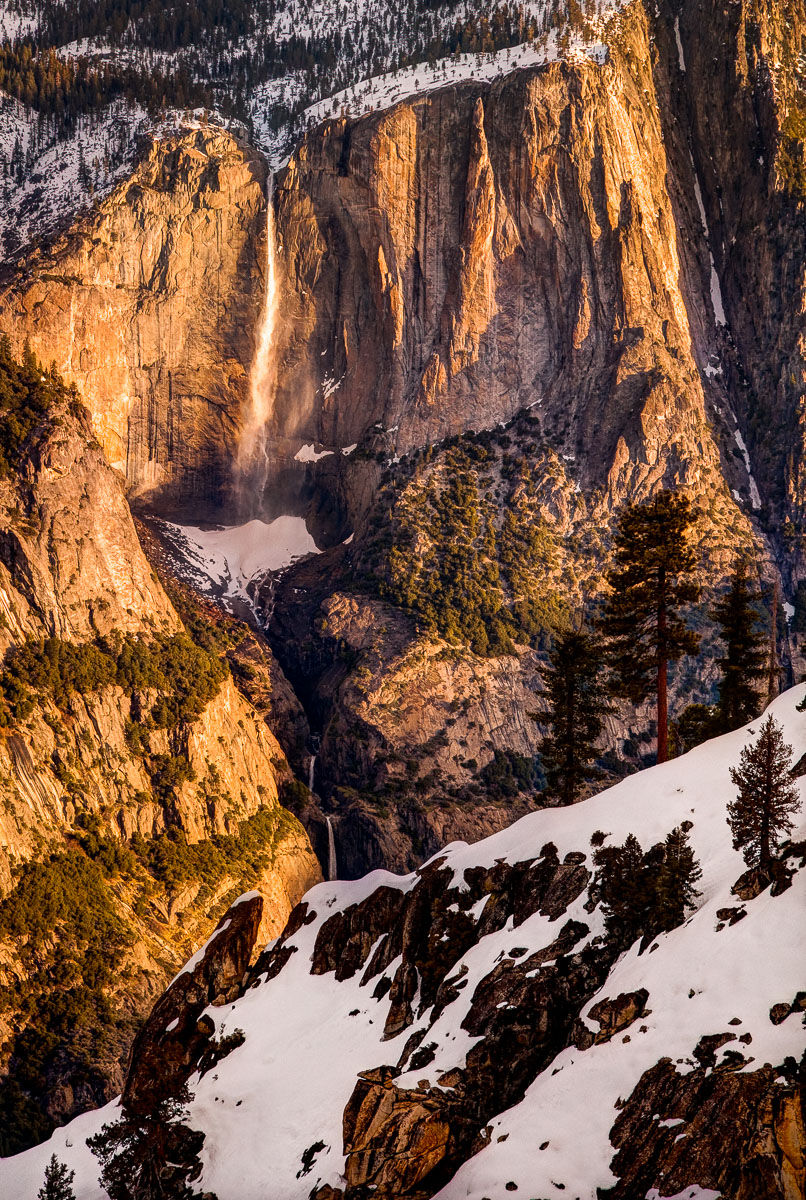 Yosemite Falls at Sunrise