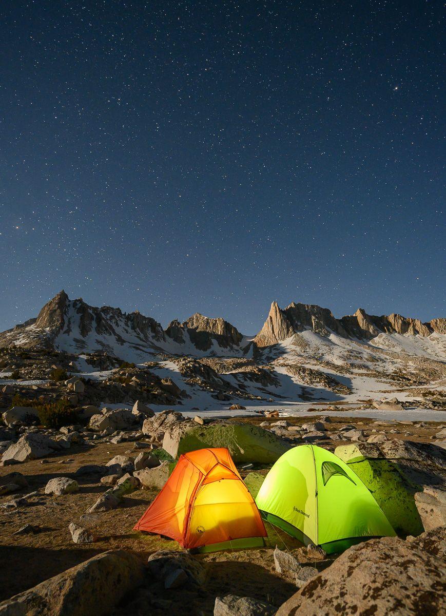 High Sierra campsite
