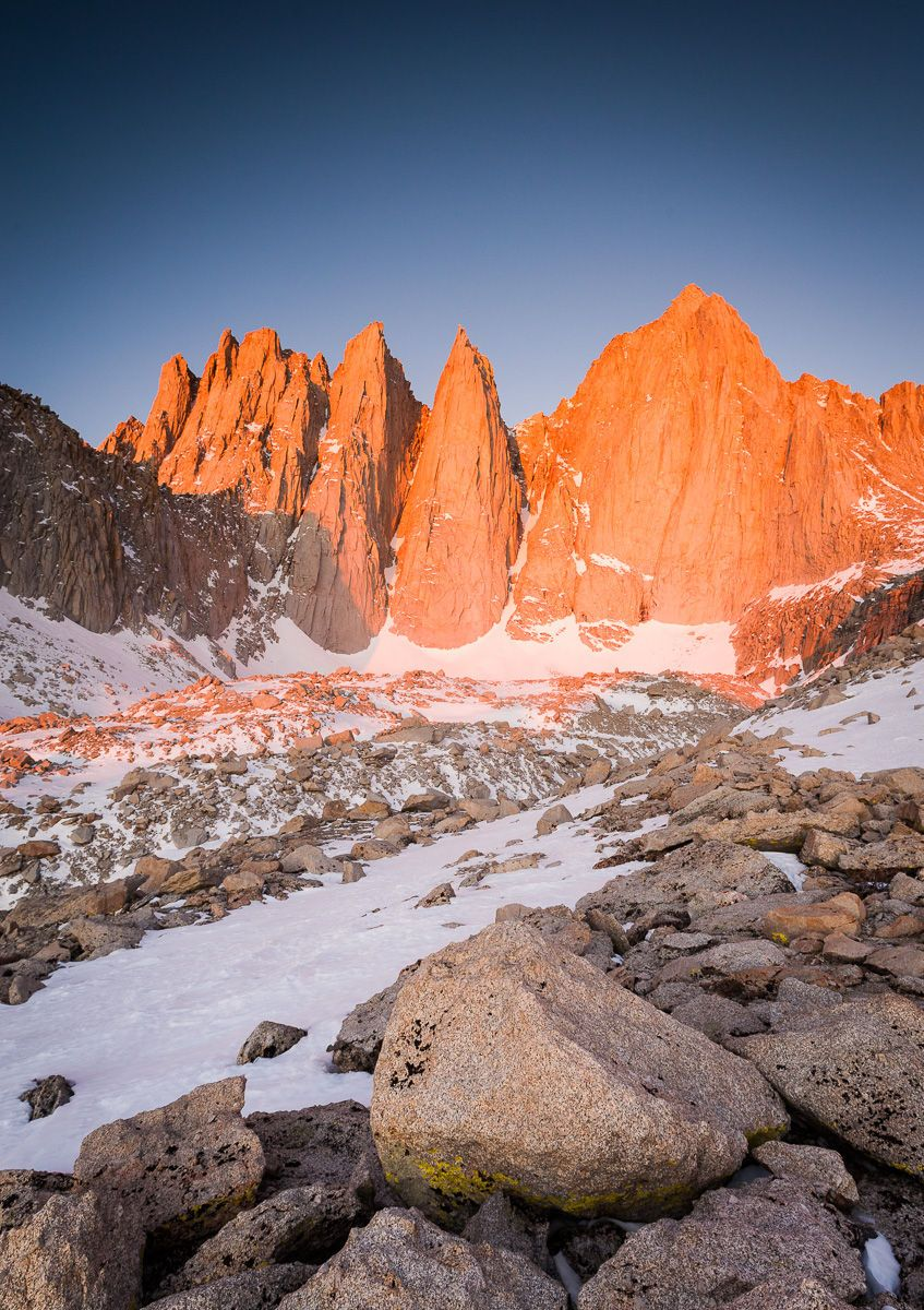 Winter Sunrise on Mount Whitney