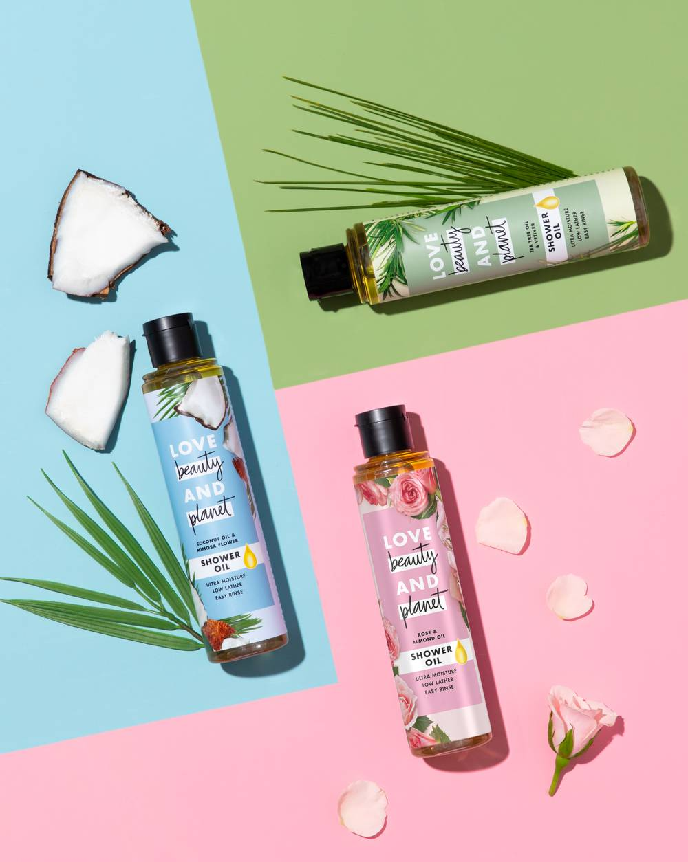 Love Beauty and Planet Shower Oil