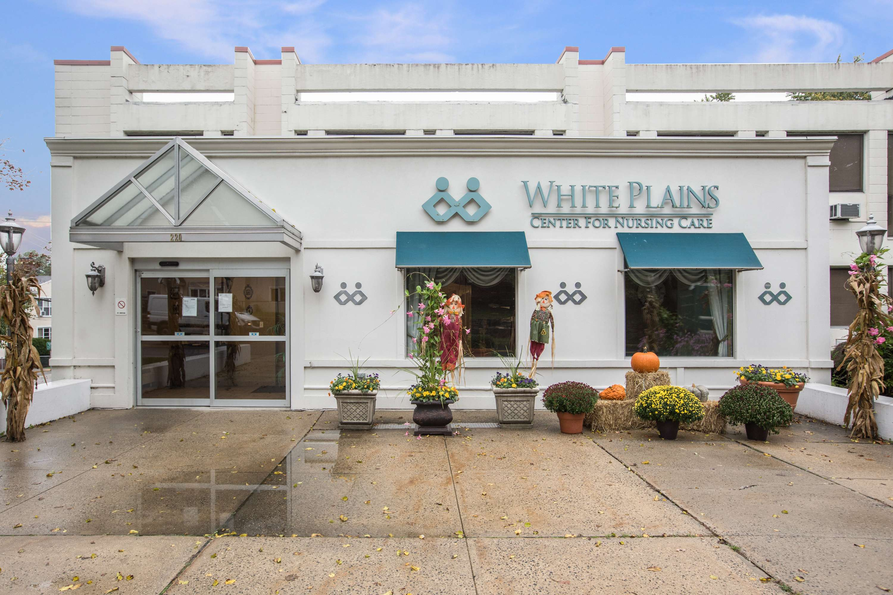 White Plains Center for Nursing Care Front Entrance