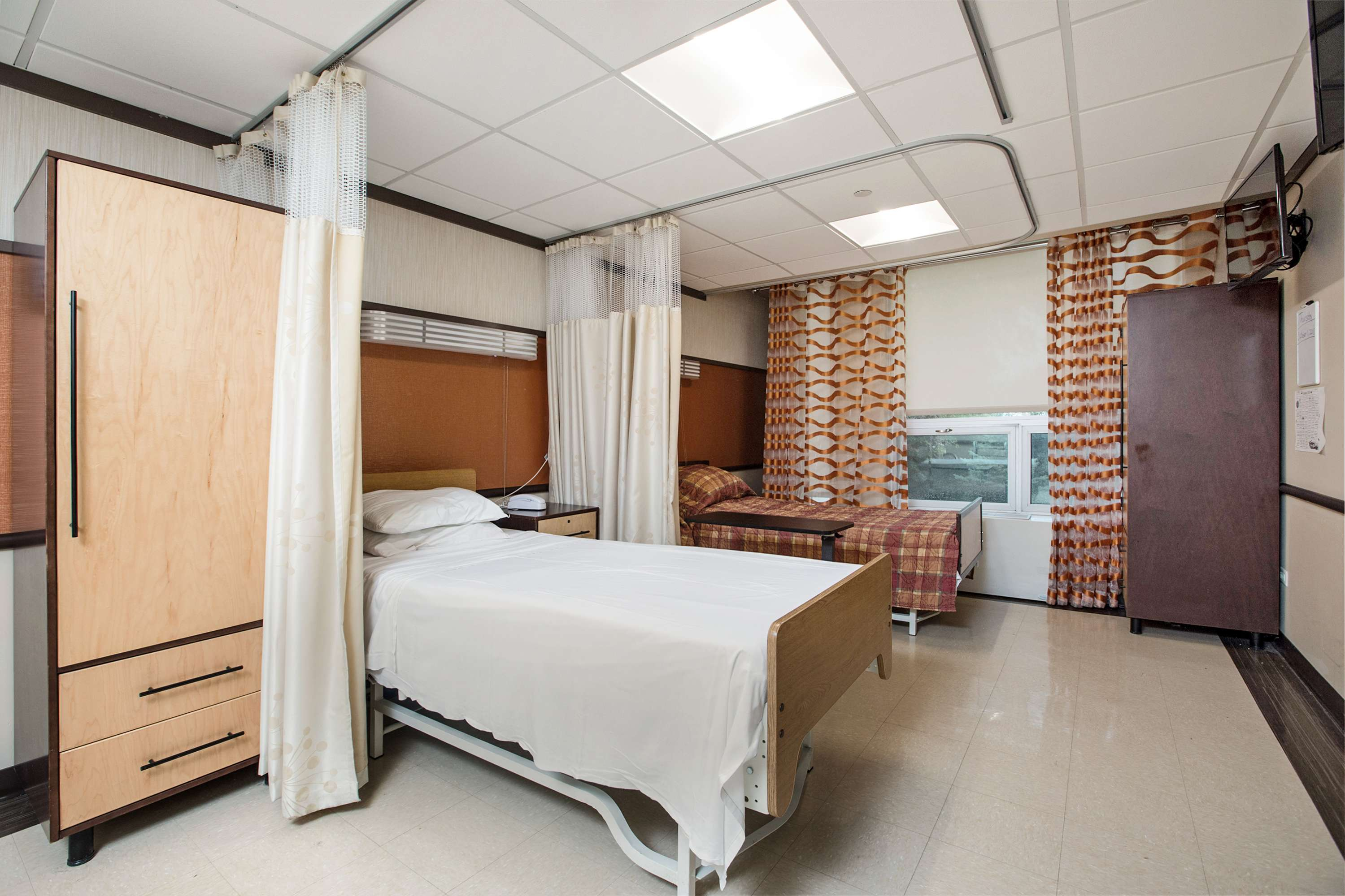 White Plains Center for Nursing Care Typical Bedroom