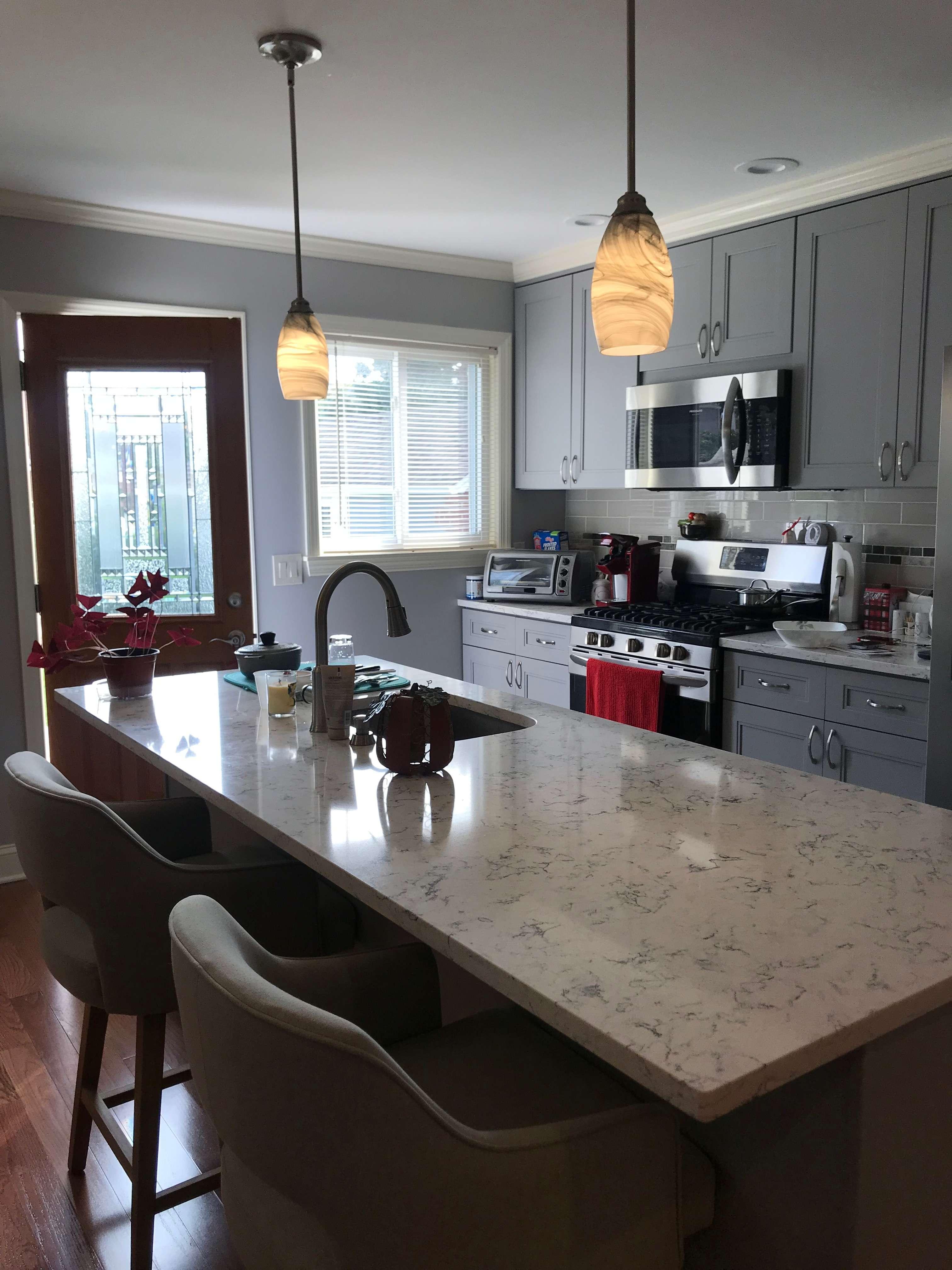 Kitchen New Open Floor Plan- Garden City, NY