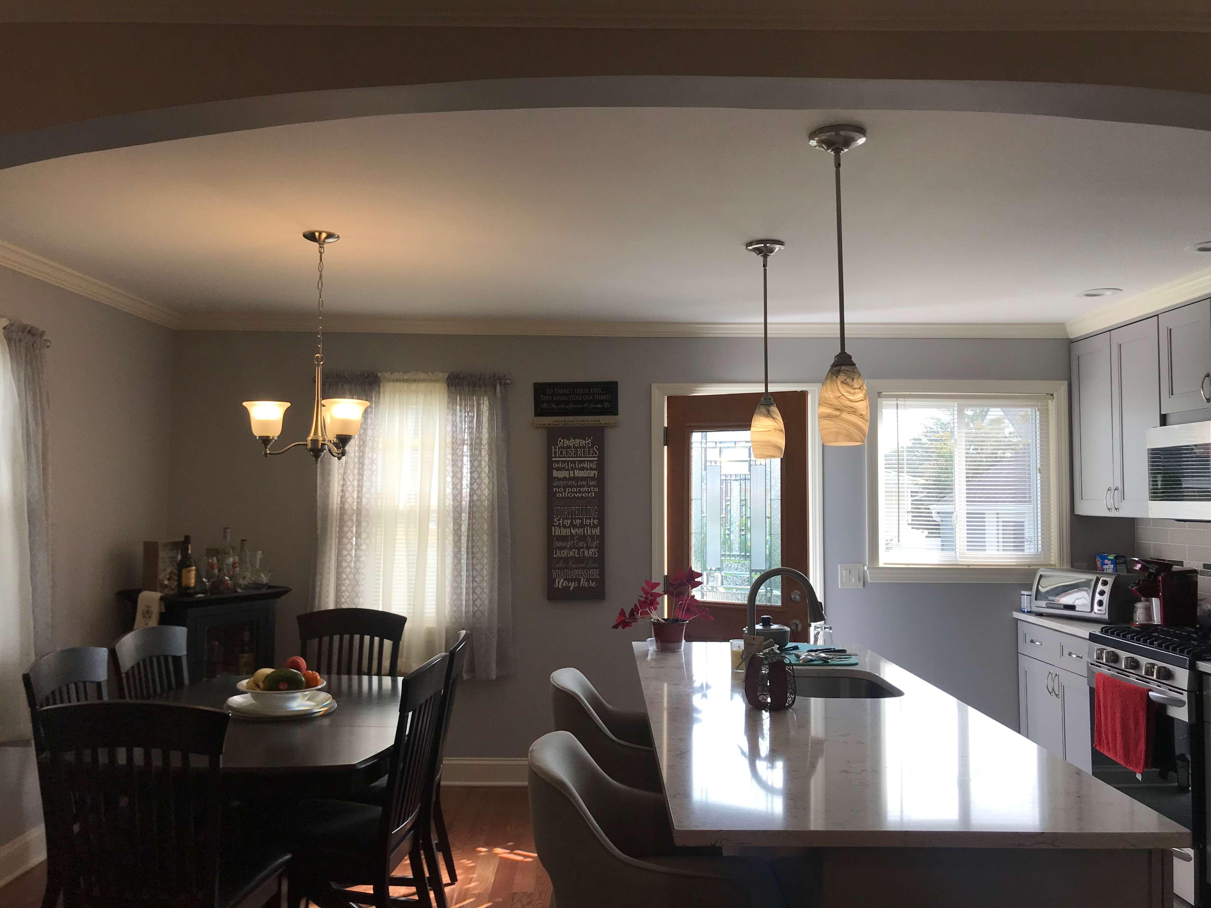 Open Floor Plan- Kitchen/DR Garden City