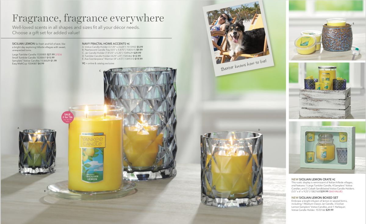 Photo Art Direction by Lauren Niles for Yankee Candle.