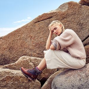 Makeup and hair by Lori Greene for Timberland.  Photos by Leonard Greco.