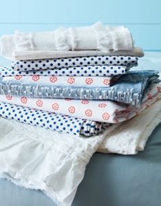 Linens styling by Beth Wickwire.