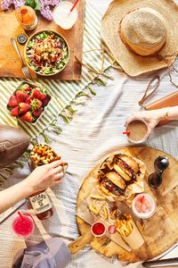 Prop styling by Erin Riley for B Good.   Food styling by Joy Howard.  Photography by Joe St.Pierre