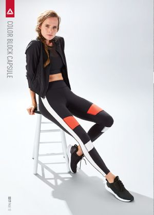 Makeup and hair by Liz Washer for Reebok.