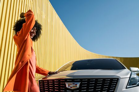 Wardrobe Styling by Daria Maneche for Cadillac.
