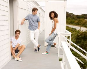Makeup and hair by Dianna Quagenti and Erica Gomes for Sperry.
