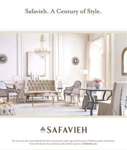 interior styling by @domenica.bucalo for Safavieh and Architectural Digest