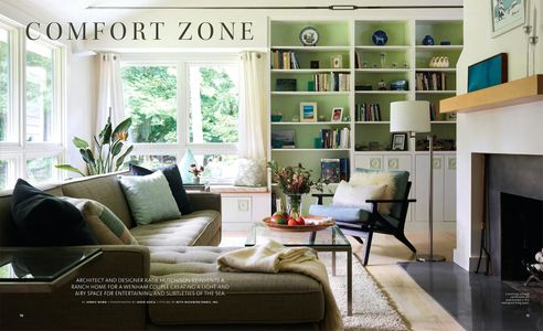 Interior styling by @Beth Wickwire for @northshorehomemagazine.   Photos @jaredkuziaphotography