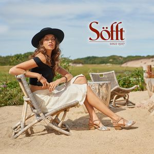 Wardrobe and prop styling by Sarah Benge for Sofft Shoe.