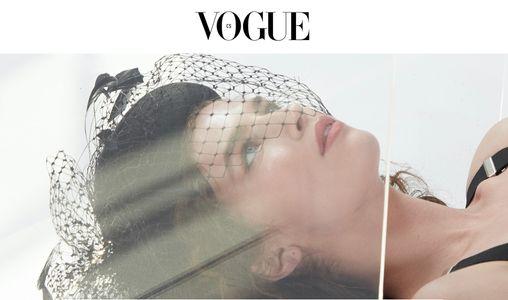 Makeup & hair @kaciecorbelle Styling @tayglo Photos @kolbyknight for Vogue Czechoslovakia