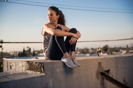 Makeup and Hair by Kristy Strate for New Balance.