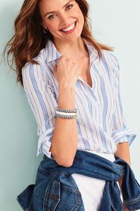 Makeup and hair by Mel Paldino for Talbots.