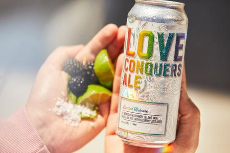 Love Conquers Ale For @samueladamsbeer Wardrobe + Props @erinriley_stylist Photos @paddycakes_piasecki Production @greener.concepts