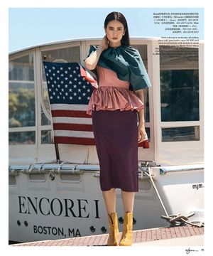 Makeup and hair by Kacie Corbelle for Luxury Magazine @Encorebostonharbor