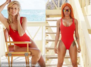 Swimsuit styling by Sarah Benge for Swimsuits For All.  Photography by Andrew Day.