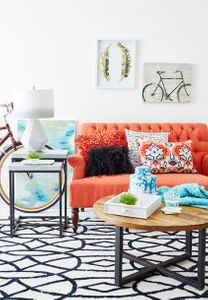 Interior and Prop styling by Beth Wickwire for HomeGoods.