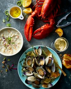 Prop Styling by Lauren Niles for Legal Seafood.