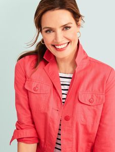 Makeup and hair by Mel Paldino for Talbots
