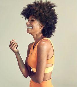Makeup and hair @lorigreenedeleo Photo @davidsalafia Model @ gabrielle_g for @reebok
