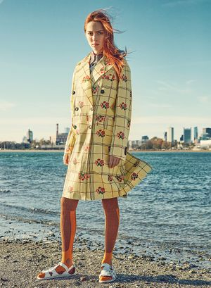 Wardrobe styling by Sarah Benge for V Magazine.  Photography  by Henrique Plantikow