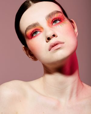 Makeup and hair by Kacie Corbelle. Photography by Steph Larsen.