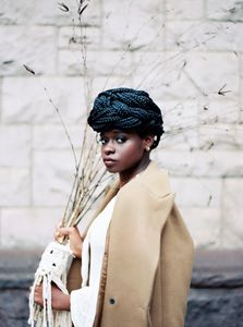 Makeup by Erica Gomez.  Photographer @bloom.52 - stylist & florist @drifterandbloom - macramé Artist @yaa_yaa426 - Model @byjawz