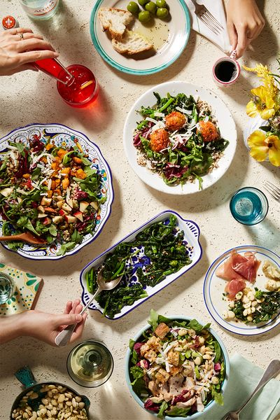 Food styling by Laura Kinsey Dolph for Chopped.