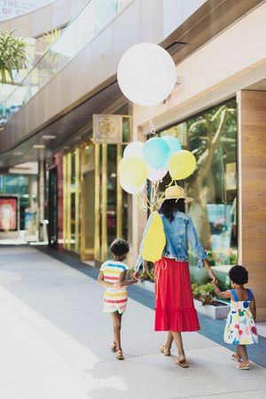 Wardrobe and prop styling by Bailey Julio for Santa Monica Place.  Photography by Jeff  Mindell.