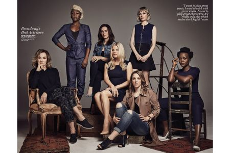 Makeup and Hair by Kristy Strate for The Hollywood Reporter.  Photography by  Austin Hargrave.