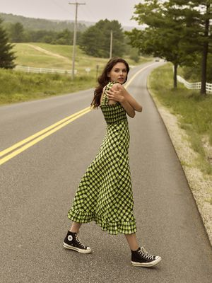 Wardrobe styling by Taylor Greeley. Makeup and hair by Liz Washer for Nylon Magazine.
